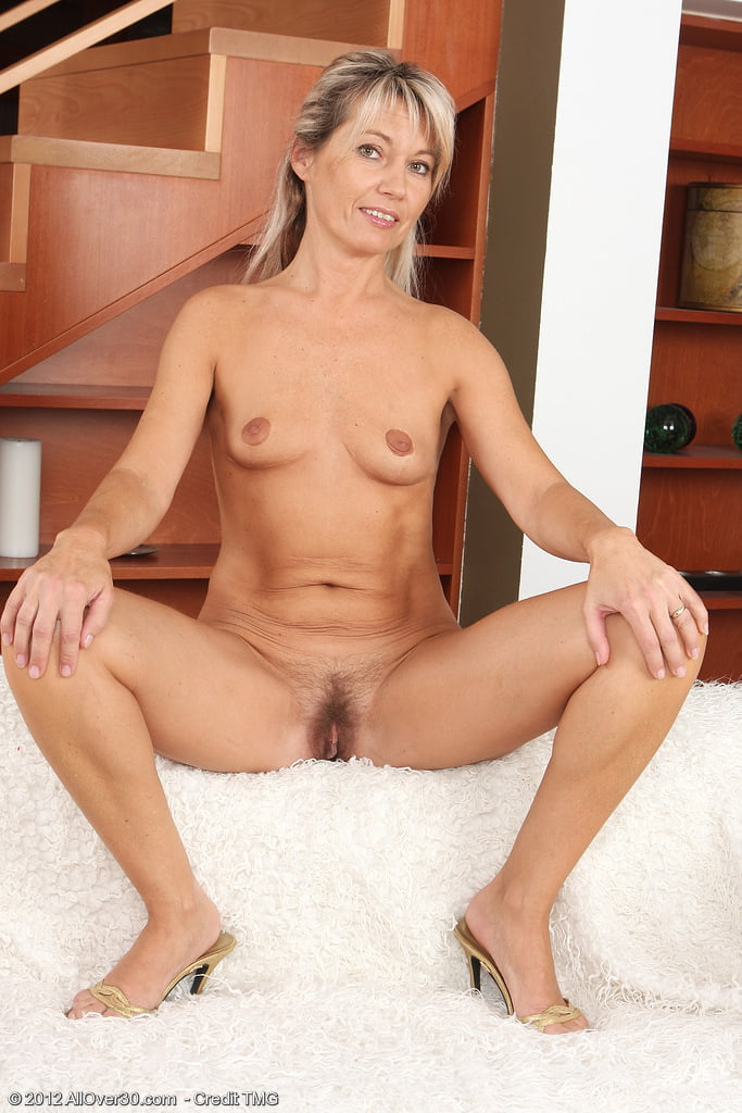 Darling is a sexy mature blond at 47